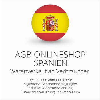 Abmahnsichere AGB Onlineshop Spanien