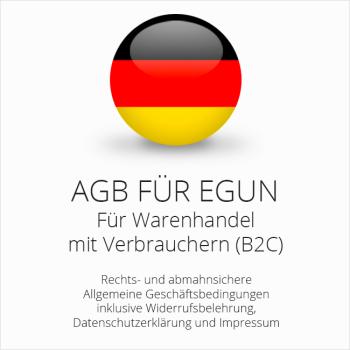 Abmahnsichere AGB für eGun von der IT-Recht Kanzlei