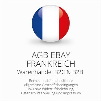 Abmahnsichere AGB für ebay Frankreich B2C & B2B