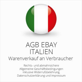 Abmahnsichere AGB für ebay Italien