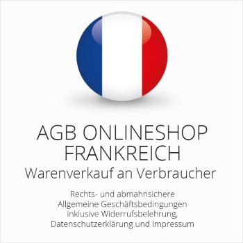 Abmahnsichere AGB für einen Onlineshop Frankreich