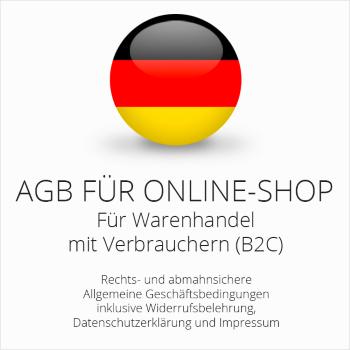 Abmahnsichere AGB für einen Onlineshop