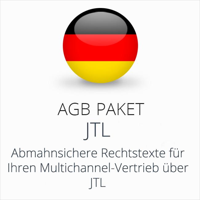 Das rechtssichere AGB Paket JTL von der IT-Recht Kanzlei