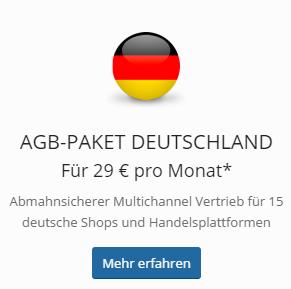 Das Multichannel-AGB Paket Deutschland von der IT-Recht Kanzlei