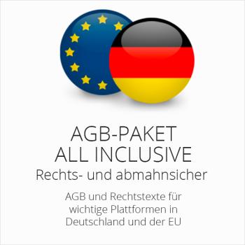 Das abmahnsichere Multichannel AGB Paket All Inclusive von der IT-Recht Kanzlei