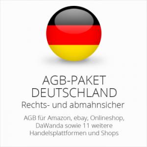 Das abmahnsichere Multichannel AGB Paket Deutschland von der IT-Recht Kanzlei