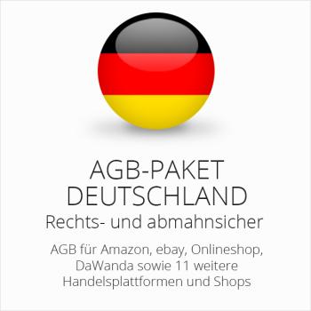 Das rechtssichere Multichannel AGB Paket Deutschland von der IT-Recht Kanzlei