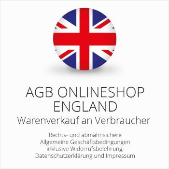 Rechtssichere AGB für einen Onlineshop nach britischem Recht